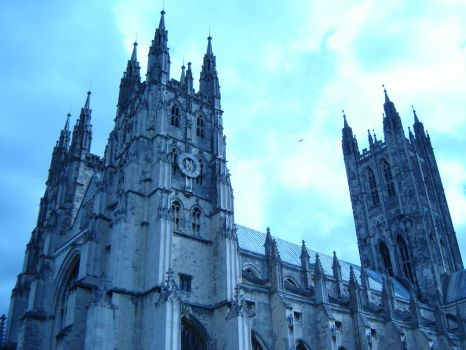 Canterbury's Cathedral by panna-phi