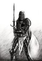 Black knight by Sigarth