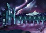 Magical Castle Night by DrunkPugs