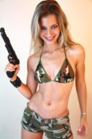 Olga - Hot Commando Girl by hardhouse