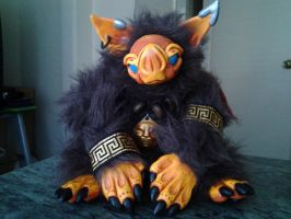 Grylis the Bat Goblin(SOLD) by ManicMinion