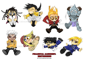 Fullmetal Chibi's! by Kittyotic