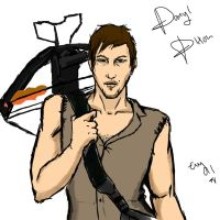 Daryl Dixon 2 by Evymonster9406
