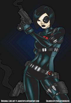 Domino by JamieFayX/Colored by ME by pixelatedxdeath