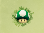 1up Wallpaper by HollowAce