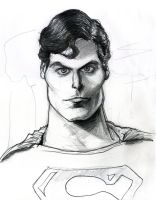 Christopher Reeve as Superman by Caricature80