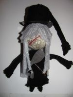 Undertaker Voodoo Doll (Black Butler) by MarieWithers