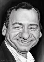 KEVIN SPACEY by JaumeCullell
