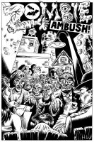 Zombie Ambush Splash Page by Huwman