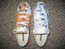 HeartGold and SoulSilver Shoes by WindSong23