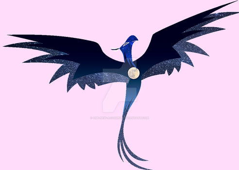 Luna as a Pheonix{?} by Omi-New-Account