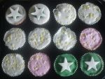 Starry Cupcakes by grassgrazers01