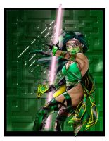 Mortal Kombat Jade re-design by viridislament