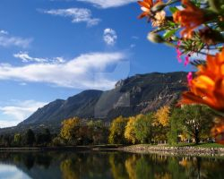 WP: cHEYENNE mOUNTAIN mORNING by Mirrormere