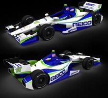 Tony Kanaan Geico 2012 by tucker65