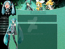 Vocaloids Layout by i-is-Roxas