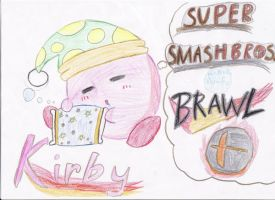 Kirby Drawing 2 by SmashBros2008