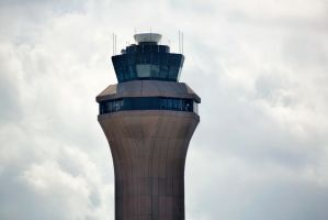 Airport Control Tower - IAD by TomFawls