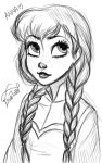 Anna (Frozen) by Claudia-deviant-art
