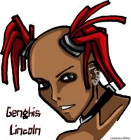 Genghis Lincoln doodleness by Centaura-Eblan