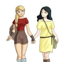 Astrid and Heather by fUnKyToEs