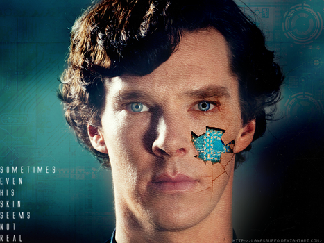 You machine - Sherlock BBC by Lavasbuffo
