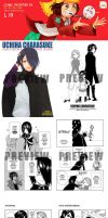 Comifuro 6 Mini Catalogue by SmartChocoBear