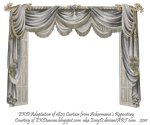 1820 EKD Regency Curtain Room 4 - curtain only by EveyD