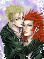 Axel and Demxy2 by BeBelial