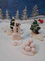 Snow-bot by Mindslave24-7