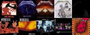 Metallica Albums by thelast1uthinkof
