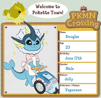 Pokemon Crossing App by Free-Falling