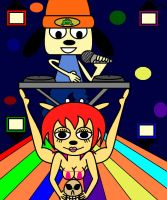 PaRappa and Lammy Music Video by MasterghostUnlimited