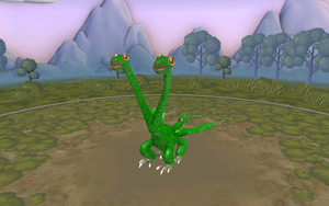 my Hideous Zippleback in Spore by moonofheaven1