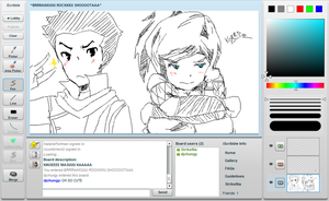 Legend of Korra: iScribble by StrikeRougeMk2