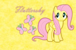 Fluttershy Wallpaper by pancs1
