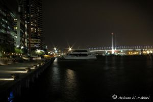 Dockland At Night...2 by Al-Msafer