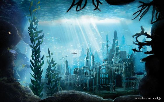 YS the lost underwater city by laura-csajagi