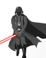 Star Wars- Darth Vader by TheFresco