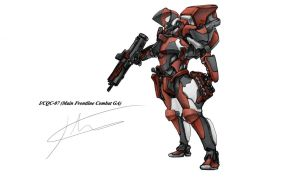 I/CQC-07 Dragoon by hhello