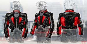 Stage Slayer Jacket Design by priteeboy