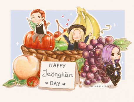 Happy Jeonghan Day! by ririss