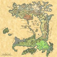 Twilight - Handdrawn Map by Sodacider