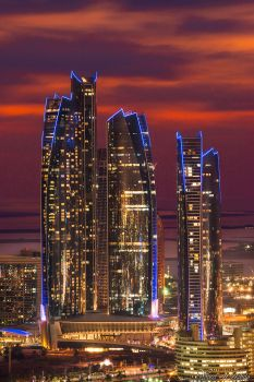 Etihad Towers by AlHabshi