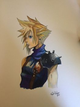Cloud Strife by taylor-nel