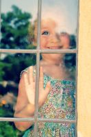 Girl in the window by TiffyLiz