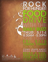 Rock for Hunger Poster by Vstyle