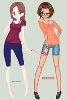 : Red string - Closed collab : by Nimmiii-tan