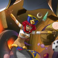Cleo Gretel attack by locuaz15143