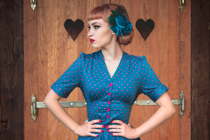 Polka Dots Love II by Miss-Bo
